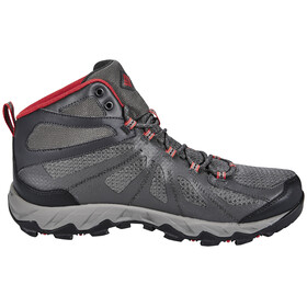 Columbia Peakfreak XCRSN II XCEL Mid Outdry Shoes Men city grey / bright red